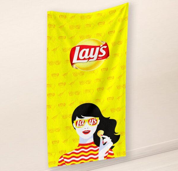 digitrükis logoga rätik