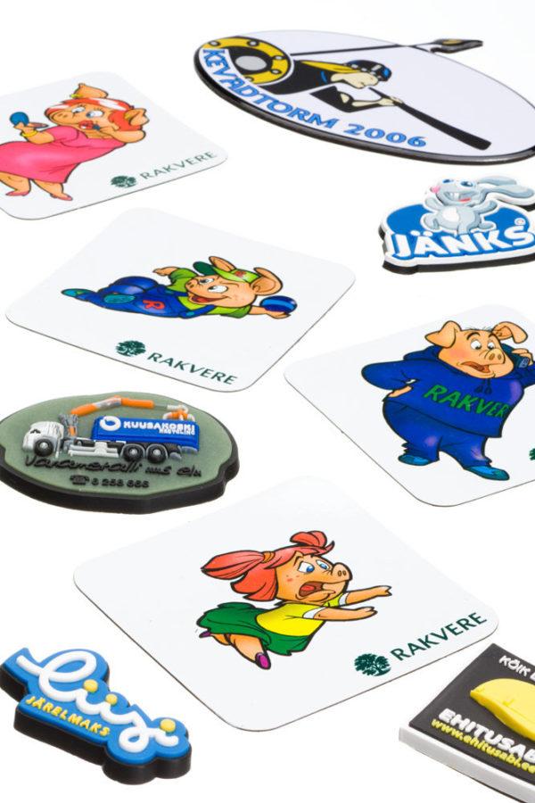 Logoga külmkapimagnetid - reklaamkingitused - kampaaniatoode.ee