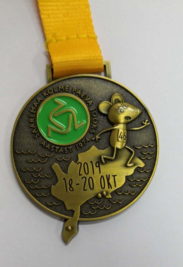 Medalid - metallist, 3D