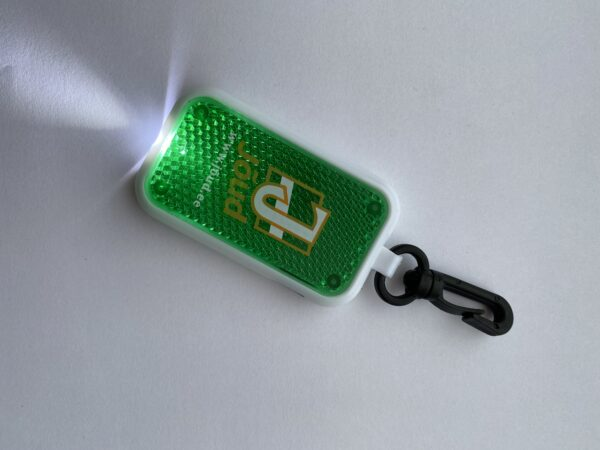 LED tulega helkur võtmehoidja